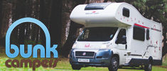 Bunk Campers Motorhome Hire