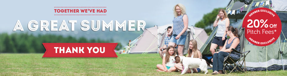 UK Campsites header banner
