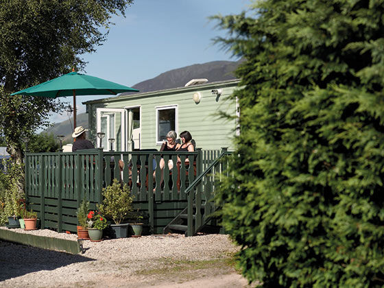 Troutbeck Holiday Caravan