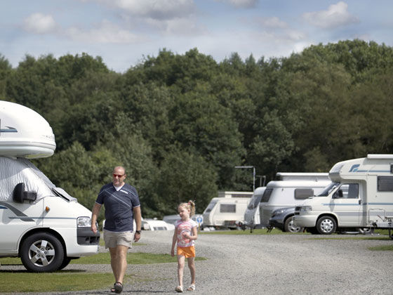 Campsites in Cheshire