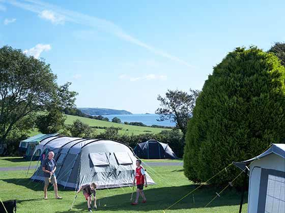 Campsites in Devon