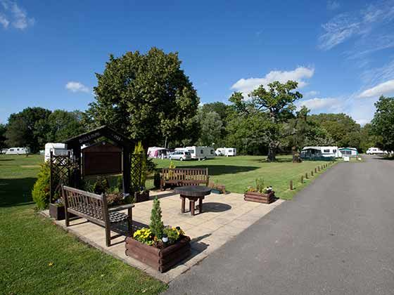 Campsites in Hertfordshire