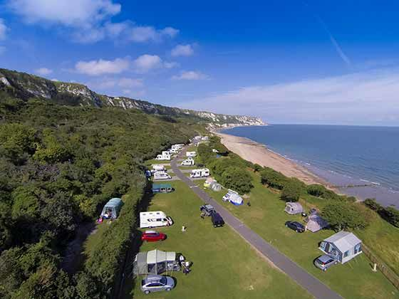 Campsites in Kent