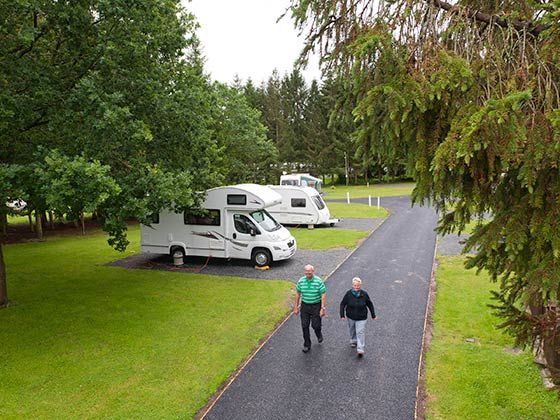 Campsites in the Wye Valley