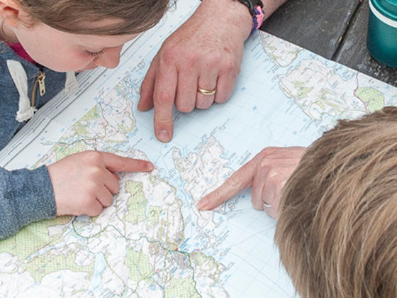 Map symbols and map reading