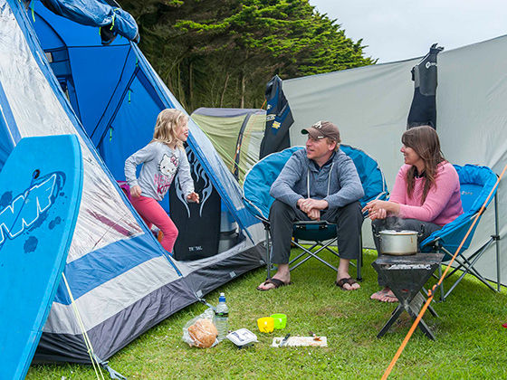 C&ing Holidays & New to tents - The Camping and Caravanning Club