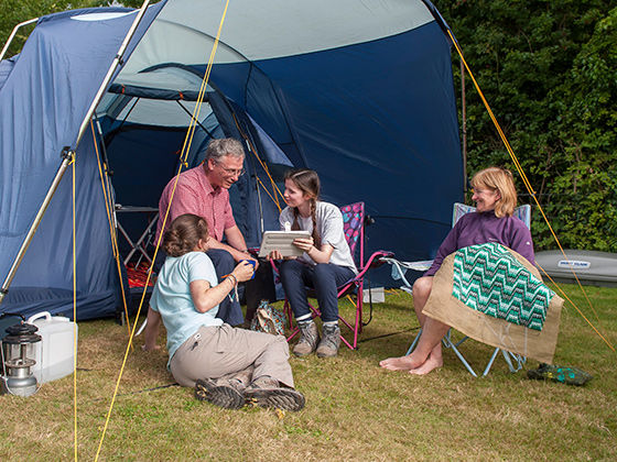Choosing a camping holiday