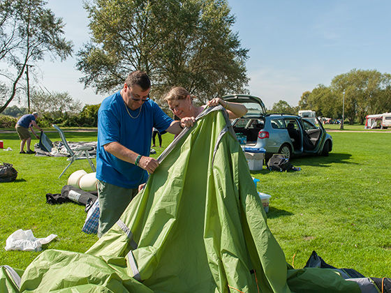 Taking care of your tent