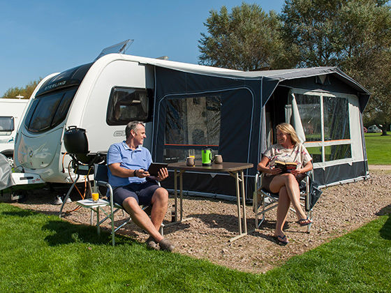 Caravan awnings - extra space