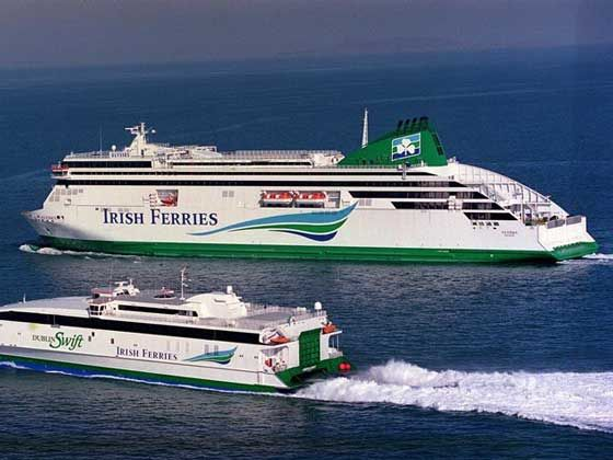 Ferries to Ireland