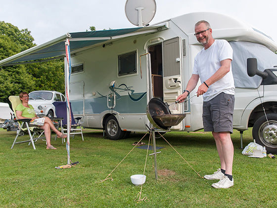 New To Motorhomes The Camping And Caravanning Club