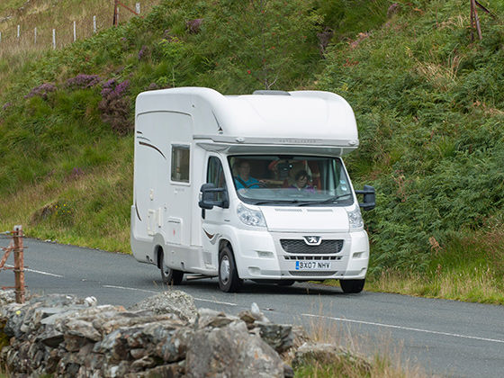 Driving motorhomes and the law