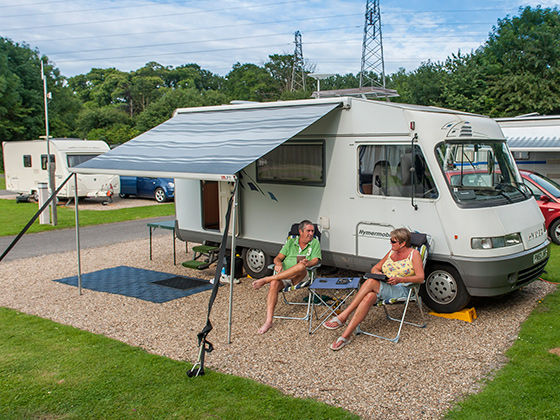 New to motorhomes - The Camping and Caravanning Club
