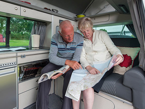 Motorhomes - Getting out and about