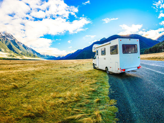 Motorhome insurance for winter sports holidays