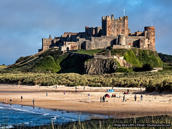 Discover knockout Northumberland beaches close to our Club Sites