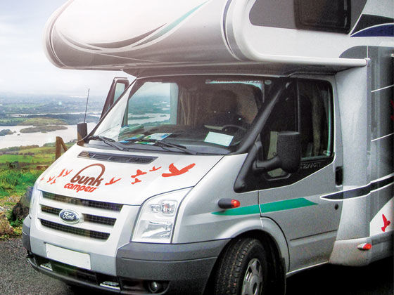 Creative Person Campervan Hire UK  Luxury 2 Person Campervan Hire Ireland
