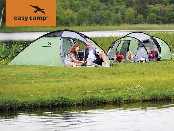 Easy Camp® – proud sponsors of Camping Club Youth