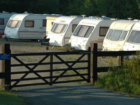 Storage and Seasonal Pitches - The Camping and Caravanning Club