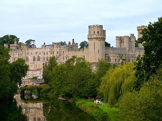 Castles in Central England