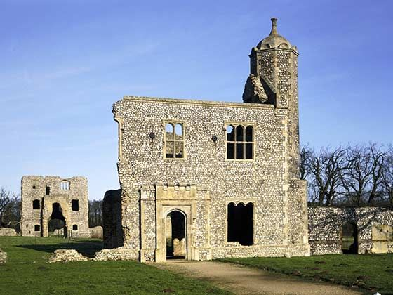 Castles in East Anglia