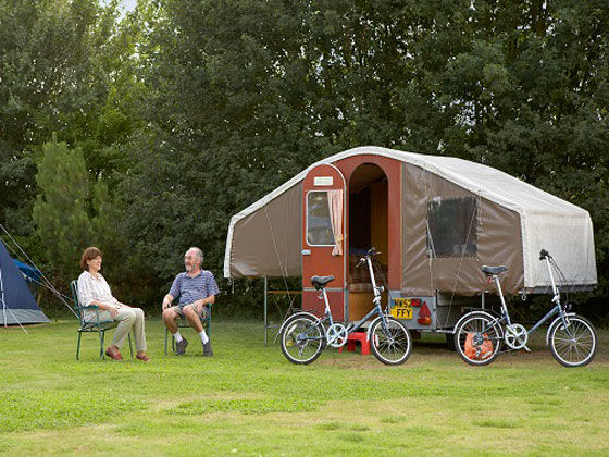 Trailer tent safety