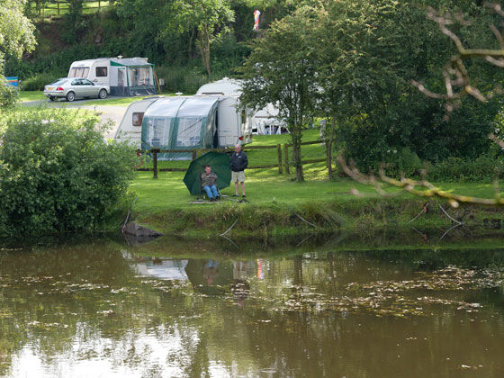 Fishing in Central England and Wales