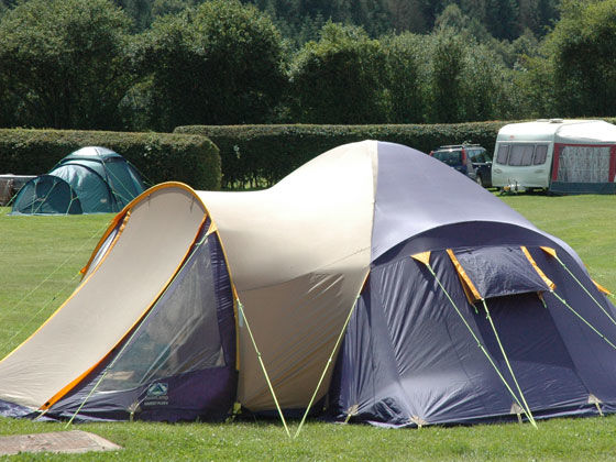 Pitches for Large Tents