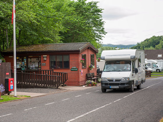 Motorhome Service Points