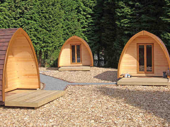 Camping Pods at Bellingham