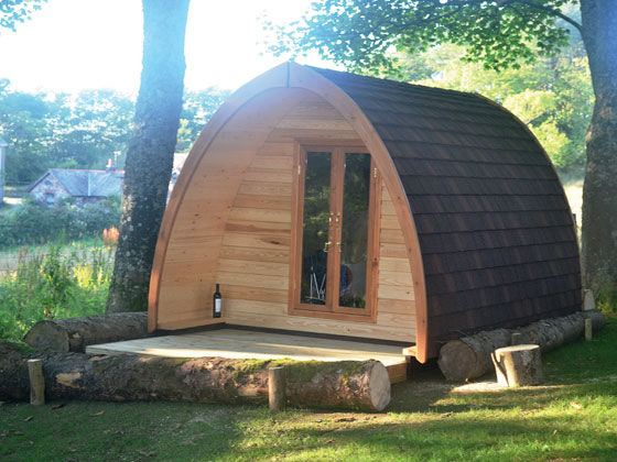 Camping Pods at Ravenglass Club Site