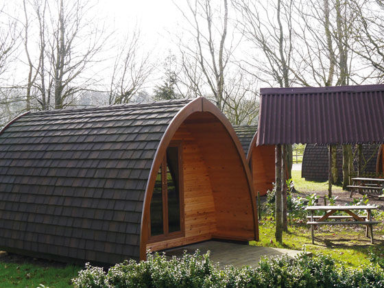 Camping Pods at Thetford Forest
