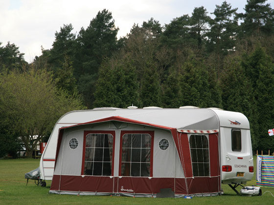 Insurance considerations when fitting a caravan awning