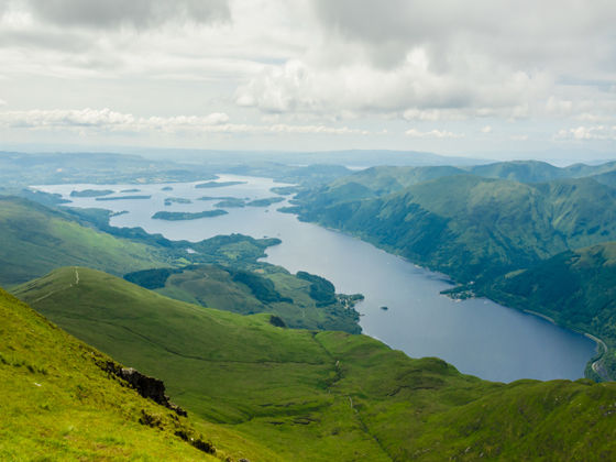 Camping in Loch Lomond and the Trossachs National Park