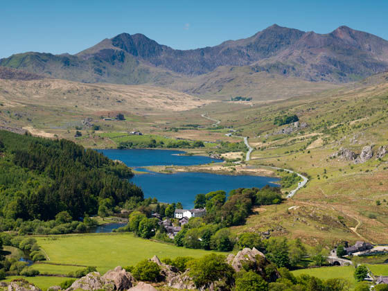 Camping in the Snowdonia National Park