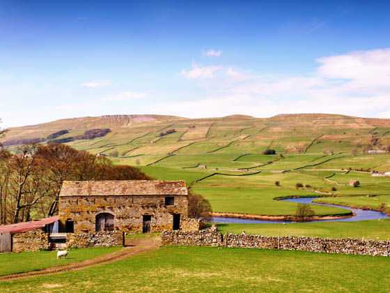 Camping in the Yorkshire Dales National Park