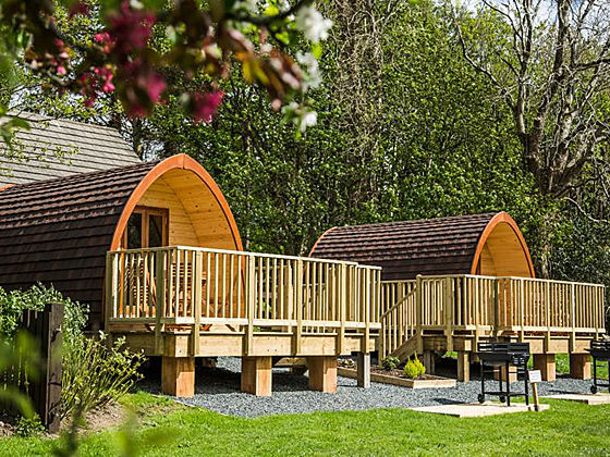 Camping Pods at Keswick Club Site
