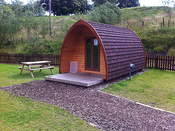 Camping Pods at Windermere Club Site