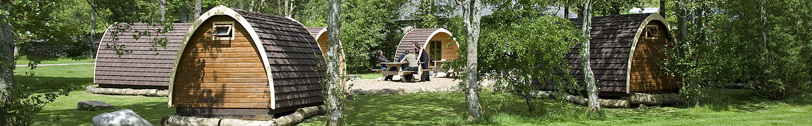 Camping Pods at Eskdale Club Site
