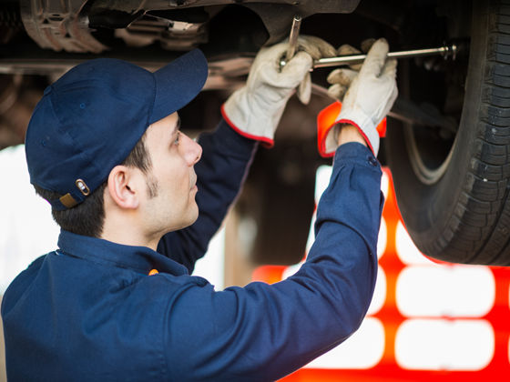 Servicing your motorhome