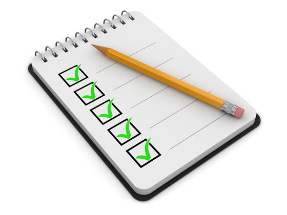 Motorhome Maintenance Checklist