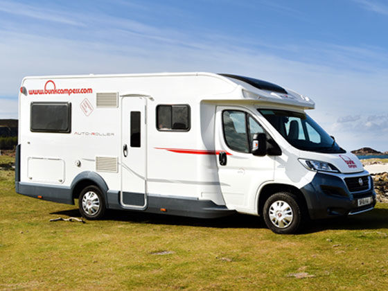 UK & Ireland Motorhome Hire