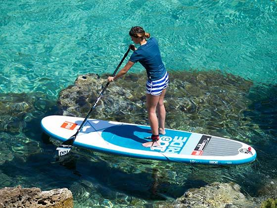 Win an inflatable Standup Paddleboard and Paddles