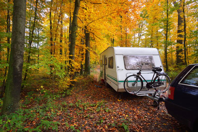 Extended caravan holidays: home insurance