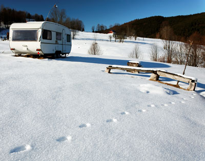 Taking to the slopes? A guide to caravanning safely in ski season
