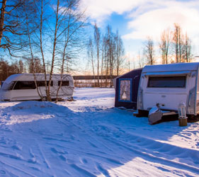 5 signs of winter caravan wear and tear that could affect your premium