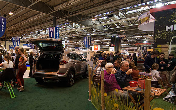 Win Caravan, Camping and Motorhome Show tickets