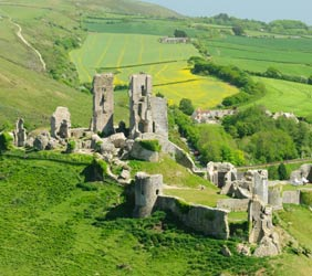 Corfe Castle Club Site walks