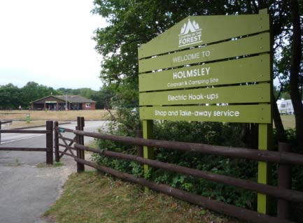 Holmsley Club Site walks