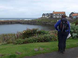 Dunstan Hill Club Site to Craster coastal walk
